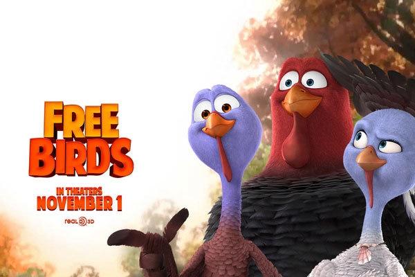 پرندگان آزاد