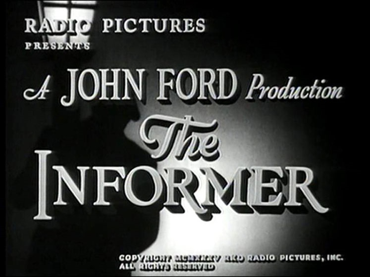 خبرچین محصول ۱۹۳۵ ساخته جان فورد