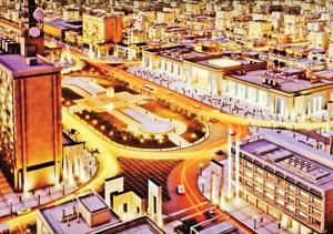 میدان امام خمینی  پس از ساماندهی چنین منظرهای خواهد داشت.