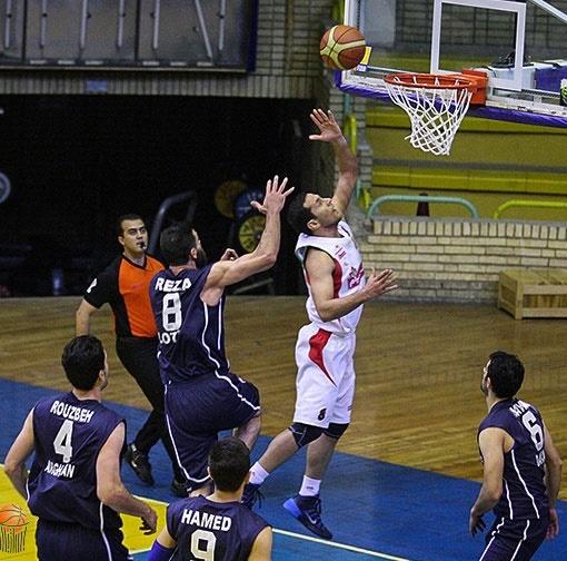 پیروزی پرگل مدعیان در هفته اول دور برگشت لیگ حرفهای بسکتبال