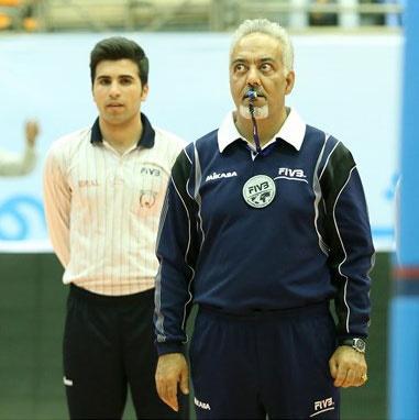 چهار قضاوت برای داور ایرانی در لیگ جهانی والیبال