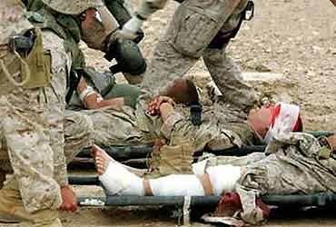 ۷ سرباز آمریکایی در درگیری با نیروهای افغان زخمی شدند