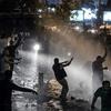 درگیری میان پلیس و معترضان در استانبول