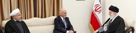 دیدار رئیسجمهوری افغانستان با رهبر معظم انقلاب