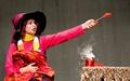 اجرای جادوگر کوچولو در تالار هنر