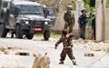 مبارزه کودک ۵ ساله با اسرائیلیها