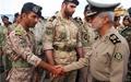 بازدید فرمانده کل ارتش از سایت موشکی منطقه پدافند هوایی جنوب
