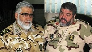 رییس سازمان پدافند غیرعامل و فرمانده نیروی زمینی ارتش دیدار کردند