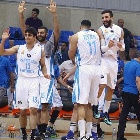 دانشگاه آزاد در فینال لیگ حرفهای بسکتبال، مهرام در یک قدمی فینال