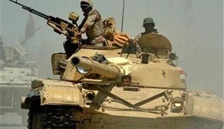 حملات شدید نیروهای عراقی علیه داعش در الرمادی