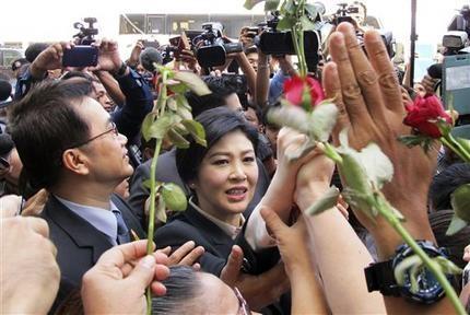 محاکمه نخست وزیر سابق تایلند به خاطر کوتاهی در پرداخت یارانه آغاز شد