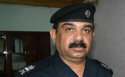 فرمانده پلیس الانبار