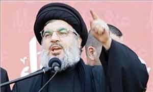 دبیرکل حزب الله لبنان: علیه تکفیریها بسیج عمومی اعلام میکنیم