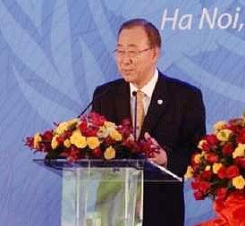 دبیر کل سازمان ملل خواستار رسیدگی به بحران مسلمانان میانمار شد