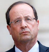 مخالف ۷۷ درصدی با نامزدی اولاند در انتخابات ریاست جمهوری فرانسه