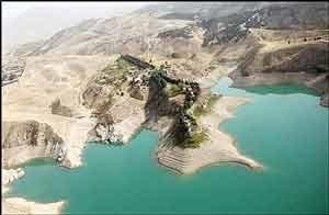 حجم مخازن آب کشور