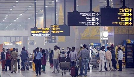 نشت مواد رادیواکتیو در فرودگاه دهلی نو