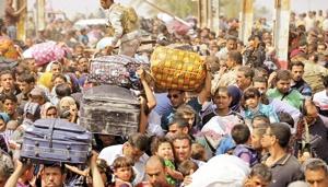 ناموفق بودن عملیات د راستان انبار باعث آوارگی هزاران نفر از مردم این استان شده است.