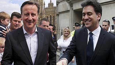 رقابت تنگاتنگ احزاب کارگر و محافظه در انتخابات پارلمانی انگلیس