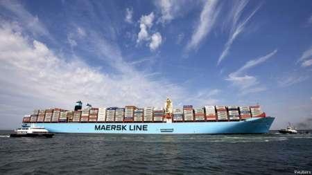 کشتی مرسک آزاد شد