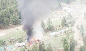 سقوط بالگرد پاکستان
