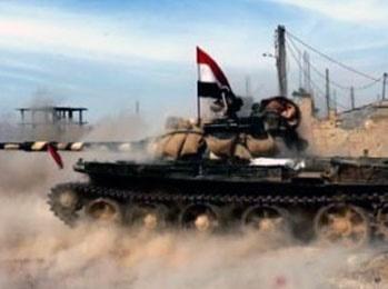 پیشروی ارتش سوریه در القلمون