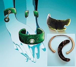 اولین دستبند  ساخت بشر