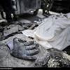 تصاویر مرگ کارگر جوان در تصادفی عجیب در خیابان ولیعصر