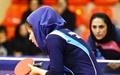 معرفی قهرمانان مسابقات انتخابی تنیس روی میز بانوان پیوند اعضا