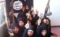 آموزش دختران ۵ ساله توسط داعشی برای عملیات انتحاری