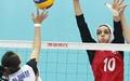 بانوان والیبالیست ایران مغلوب کره جنوبی شدند
