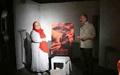 افتتاح یک نمایش توسط مسجدجامعی؛ انگار در چشمان تو اسب میدود