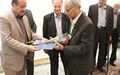 تجلیل از معلمان نمونه به مناسبت روز معلم در یزد