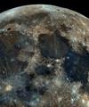 ۳۲ هزار عکس از ماه در یک فریم