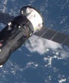 کپسول باری روسها در اتمسفر میسوزد
