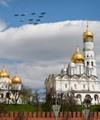 عکس روز: جنگندههای روسی بر فراز کرملین