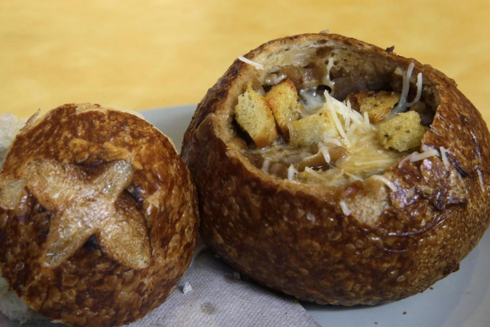 French Onion Soup Bread Bowl