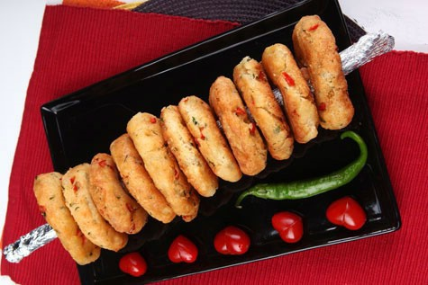 آشنایی با روش تهیه نانهای حلقهایِ رنگارنگ