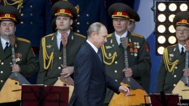 واکنش روسیه به استقرار سلاحهای سنگین آمریکا در اروپای شرقی