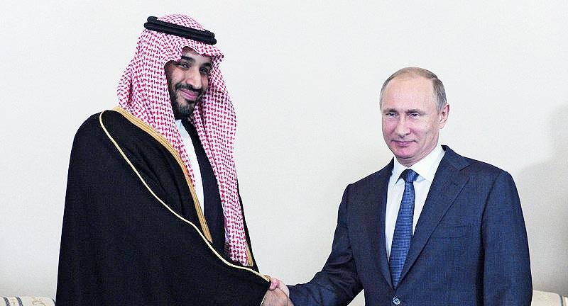 دیدار پوتین و جانشین ولیعهد عربستان در روسیه