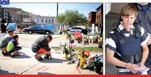 مردم آمریکا در واکنش به قتل ۹ سیاهپوست توسط قاتلی خونسرد اقدام به برگزاری مراسم یادبود و نظاهرات سکو