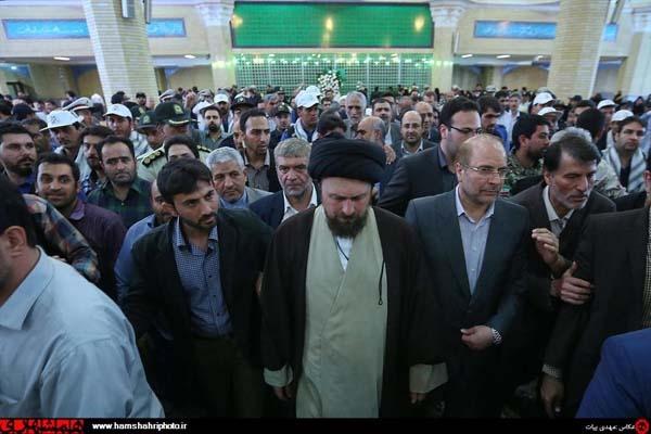 تجدید میثاق شهردار، مدیران و کارکنان شهرداری با آرمانهای امام خمینی (ره)