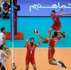 لیگ جهانی والیبال ۲۰۱۵ /  پیروزی خیره کننده: ایران ۳ - آمریکا صفر