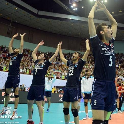 تبریک و دعوت روسها از والیبالیستهای ایران
