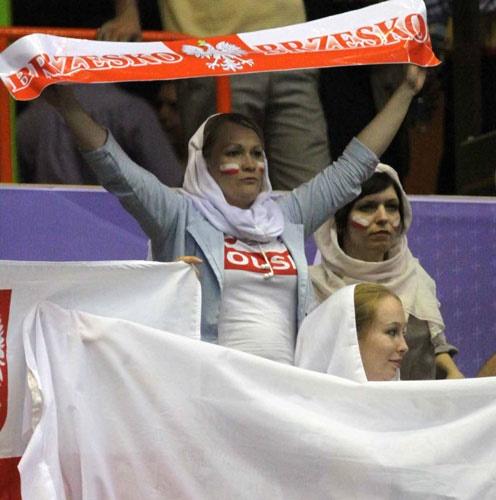 تصاویر چهارمین دیدار تیمهای والیبال ایران و لهستان
