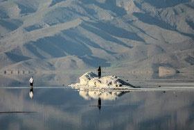 ریزگردهای نمکی دریاچه ارومیه عامل سرطان و فشار خون