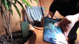 شارژ تلفن همراه با خاک گیاهان