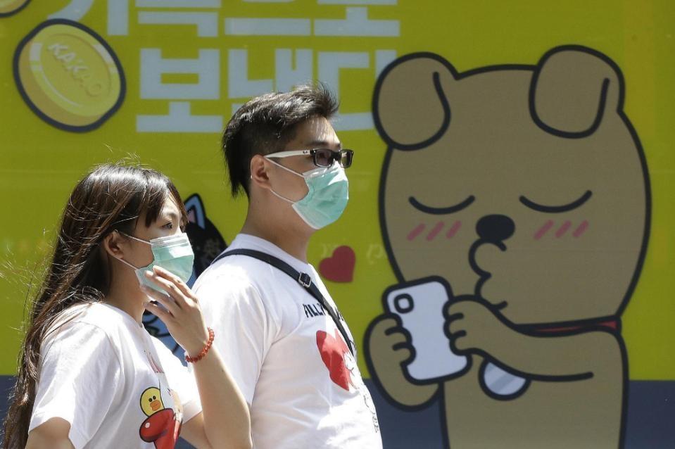 وحشت مردم کره جنوبی از شیوع نشانگان تنفسی خاورمیانه