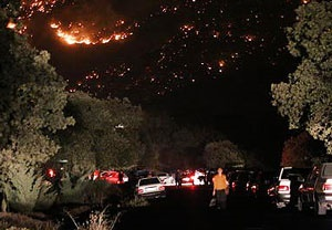 آتش سوزی جنگل ایلام