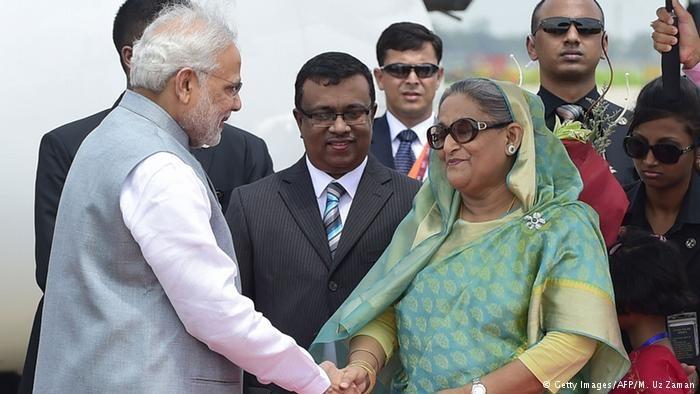 هند و بنگلادش نواحی مرزی خود را معاوضه میکنند